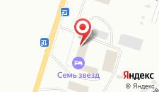 Гостиница 7 звезд на карте