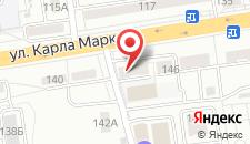 Отель Зарина на карте