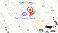 Гостиница Золотое время на карте