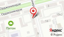 Мини-гостиница Комфорт на карте