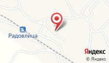 Апартаменты Vidicev Dvorec на карте