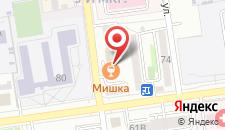Отель Рубин на карте