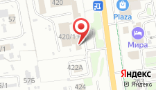 Гостиница Империал-Палас на карте