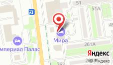 Гостиница Мира Отель Сахалин на карте
