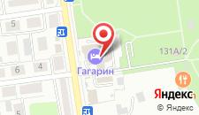 Гостиница Гагарин на карте