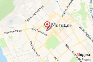 Адрес МУП г. Магадана Водоканал на карте