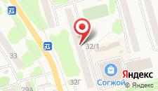 Хостел На Ленина 32 на карте