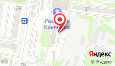 Гостиница Эдельвейс на карте