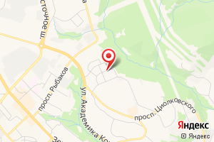 Адрес Трансформаторная подстанция № 554 на карте