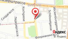Отель Hotel Pension Baronesse на карте