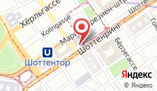 Отель Hilton Vienna Plaza на карте