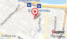 Отель Hotel Post Wien на карте