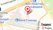 Отель ibis Wien Hauptbahnhof на карте