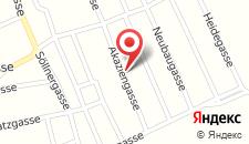 Апартаменты Haus Akazie на карте