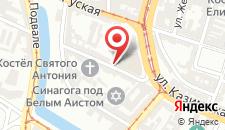 Хостел Amnezja Hostel на карте