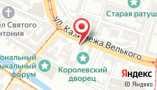Гостевой дом Kamienica Pod Aniołami на карте