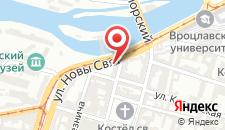 Отель Best Western Hotel Prima Wrocław на карте