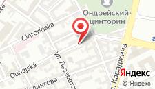 Апартаменты Apartmán Dunajská на карте
