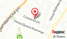 Апартаменты Apartment NiN Rustik на карте