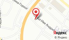 Хостел Hostel Omega на карте