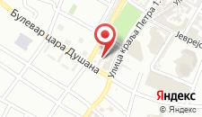 Апартаменты Stan na dan Banja Luka на карте