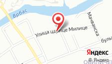 Апартаменты Apartments Mejdan на карте