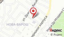 Апартаменты Banja Luka на карте