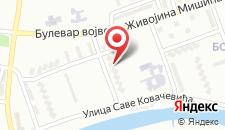 Апартаменты Sofija Apartments & Rooms - Banja Luka Centre на карте