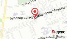 Апартаменты Apartman Sandra на карте