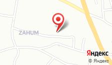 Апартаменты Studio Sanja на карте