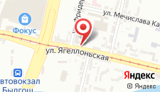 Отель Campanile Bydgoszcz на карте