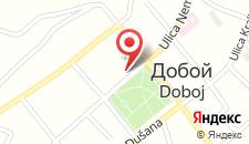 Отель Hotel Park Doboj на карте
