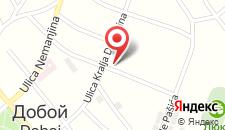 Апартаменты Jelena Apartment на карте