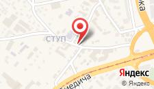 Апартаменты Delux Apartment Sarajevo Ilidza на карте