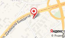 Апартаменты Apartman Fortuna на карте