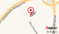 Апартаменты Stupska Studio на карте