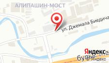 Апартаменты Studio Apartment Ajla на карте