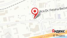 Отель Hotel Ada - Otoka на карте