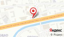 Апартаменты Studio Alma на карте