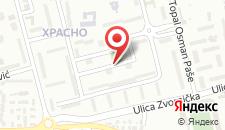 Апартаменты Prime Apartment's Sarajevo на карте