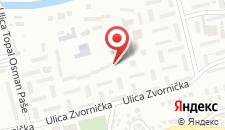 Апартаменты Apartment Mija на карте