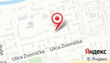 Апартаменты Luka на карте