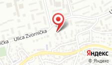 Апартаменты Apartment Forward Sarajevo на карте