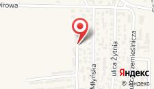 Отель Apartsport Wladyslawowo Reja B&B на карте