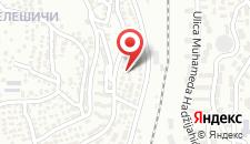 Апартаменты Lavander House на карте