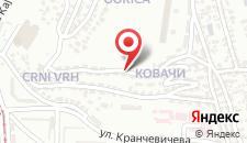 Апартаменты Apartment Dina на карте