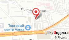 Апартаменты Sarajevo City Center, free parking на карте