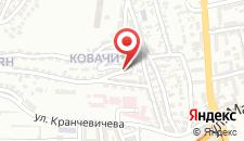 Апартаменты Mini Central на карте