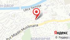 Апартаменты Apartman Armin на карте