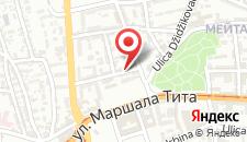 Апартаменты Popper Apartment на карте
